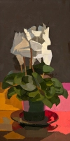 STILL LIFE oil on panel