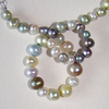 various media freshwater pearls and silver