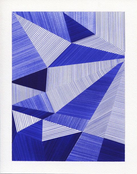 2012-2013: Ballpoint Series Untitled