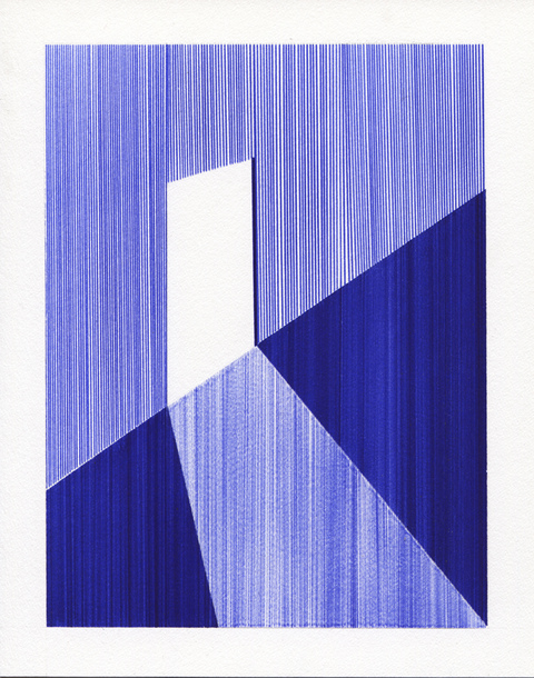 2012-2013: Ballpoint Series Rectangle Ajar