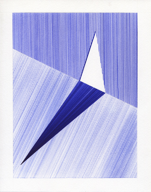 2012-2013: Ballpoint Series Triangle Ajar