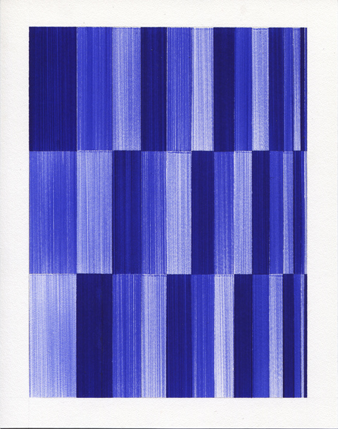 2012-2013: Ballpoint Series Composition with Rectangles