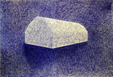 2012-2013: Ballpoint Series Blue Barn