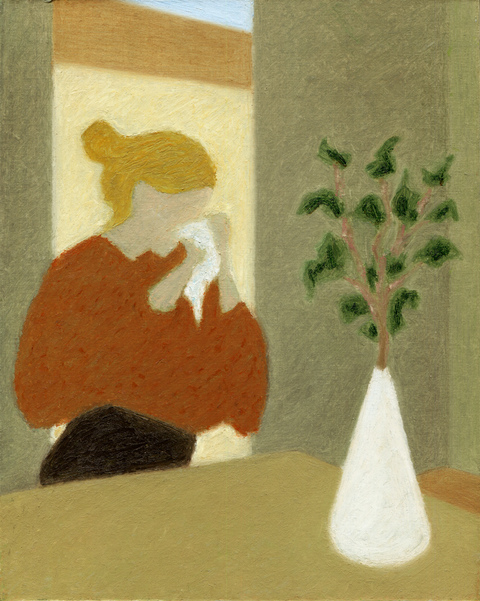 2017- Ongoing  Woman with Plant (Julia)