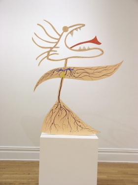 "CHARLEY FRIEDMAN INSTALLATIONS & SCULPTURES sculpture: 46""x56""x3/4"""