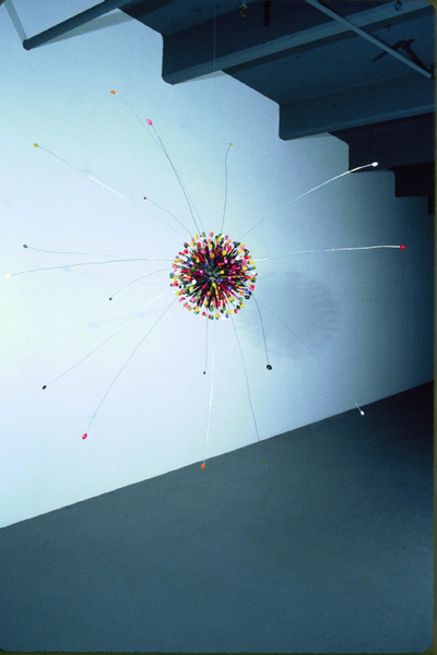 CHARLEY FRIEDMAN CRP: 1998 jellybeans, crayons, wire, resin
