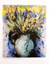 CHEYMORE GALLERY PRINTS: Contemporary Masters Jim Dine and Chuck Close Etching, photogravure, monotype and hand painting