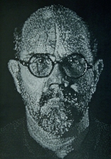 CHEYMORE GALLERY PRINTS: Contemporary Masters Jim Dine and Chuck Close Paper pulp pochoir