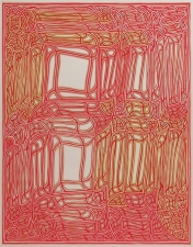 CHEYMORE GALLERY JAMES SIENA / VISUAL ALGORITHMS / March 27- May 4, 2013 5 color Ukiyo-e style woodcut