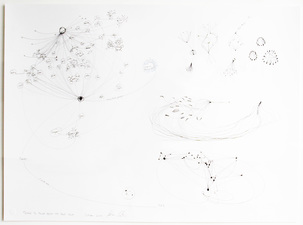CHEYMORE GALLERY PROPHETIC DIAGRAMS II / October 25- December 19, 2014 Graphite on paper