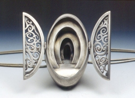 Chris Irick  works from 2006 - 2000 sterling & fine silver.