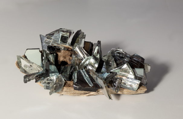 Christine Shannon Aaron Sculpture  mixed media