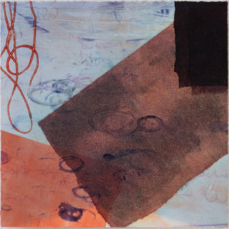 Christine Shannon Aaron Monotypes montotype