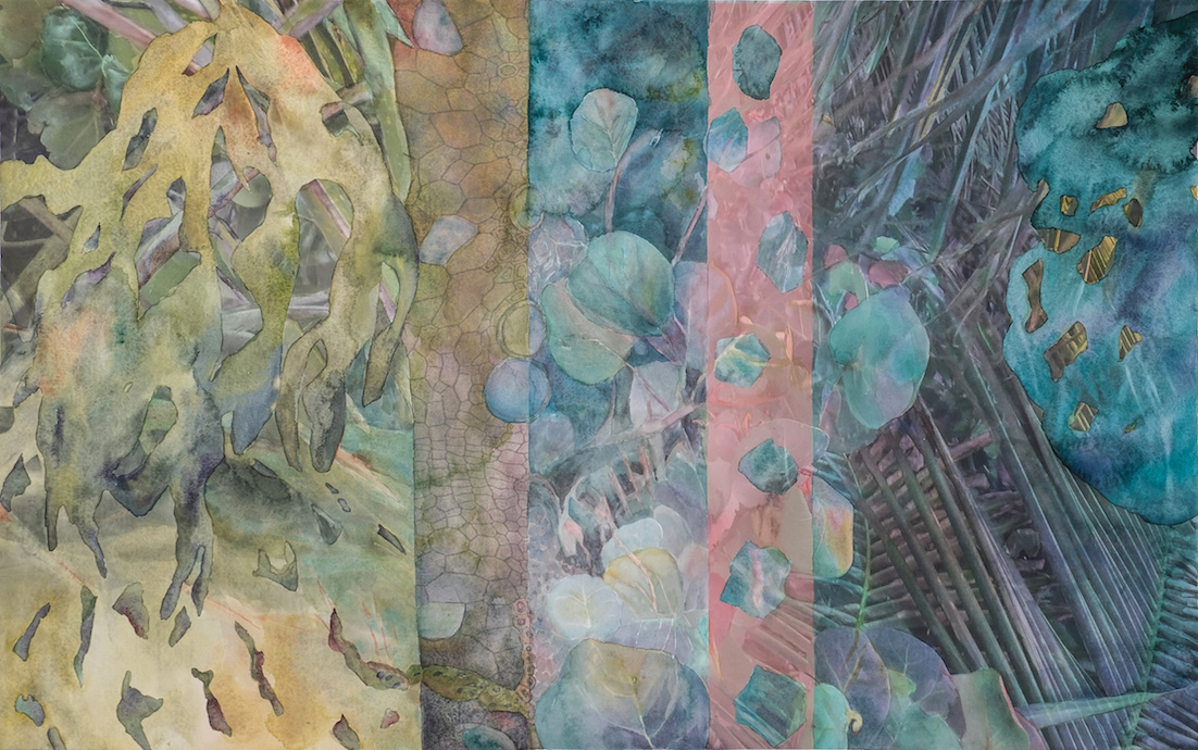 CHRISTINE NEILL Mixed Media Paintings 2016-2012