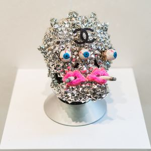 christybomb sculptures Mixed media