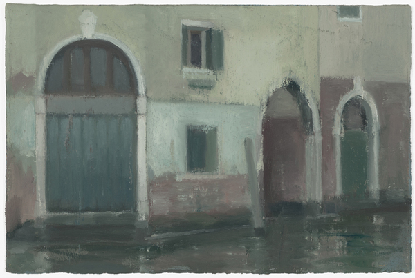 Chris Wright venice Oil on Paper