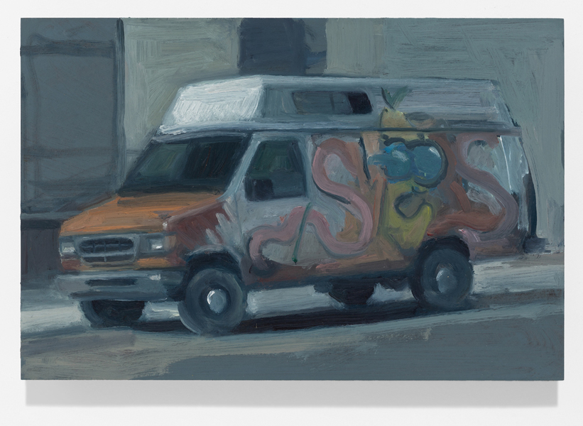 vehicles Graffiti Van