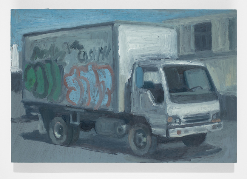 vehicles Box Truck No. 3