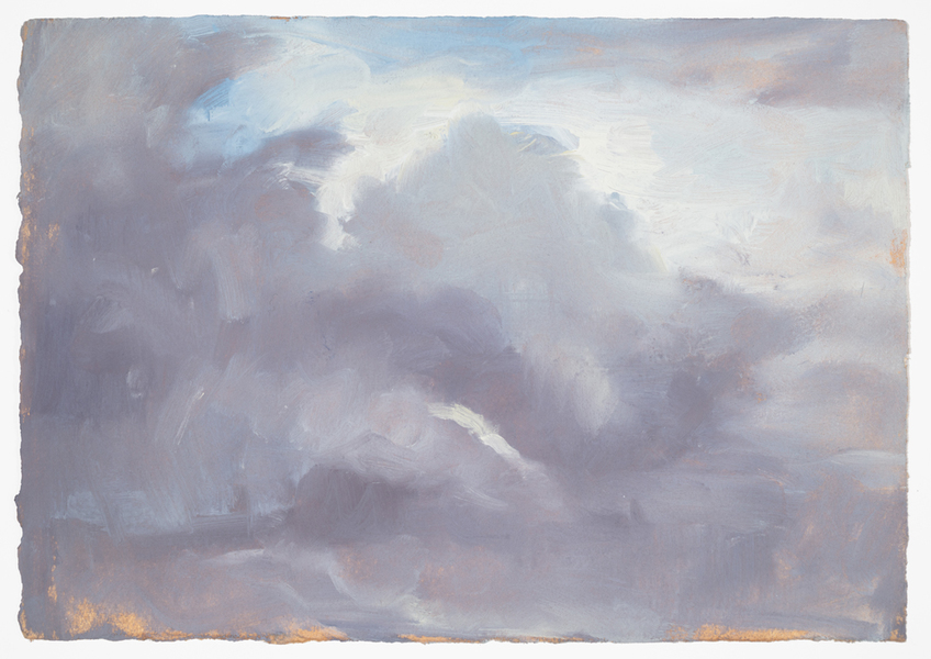 cloud studies  cloud studies Oil on Paper