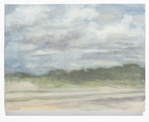 Chris Wright fort tilden Oil on Linen