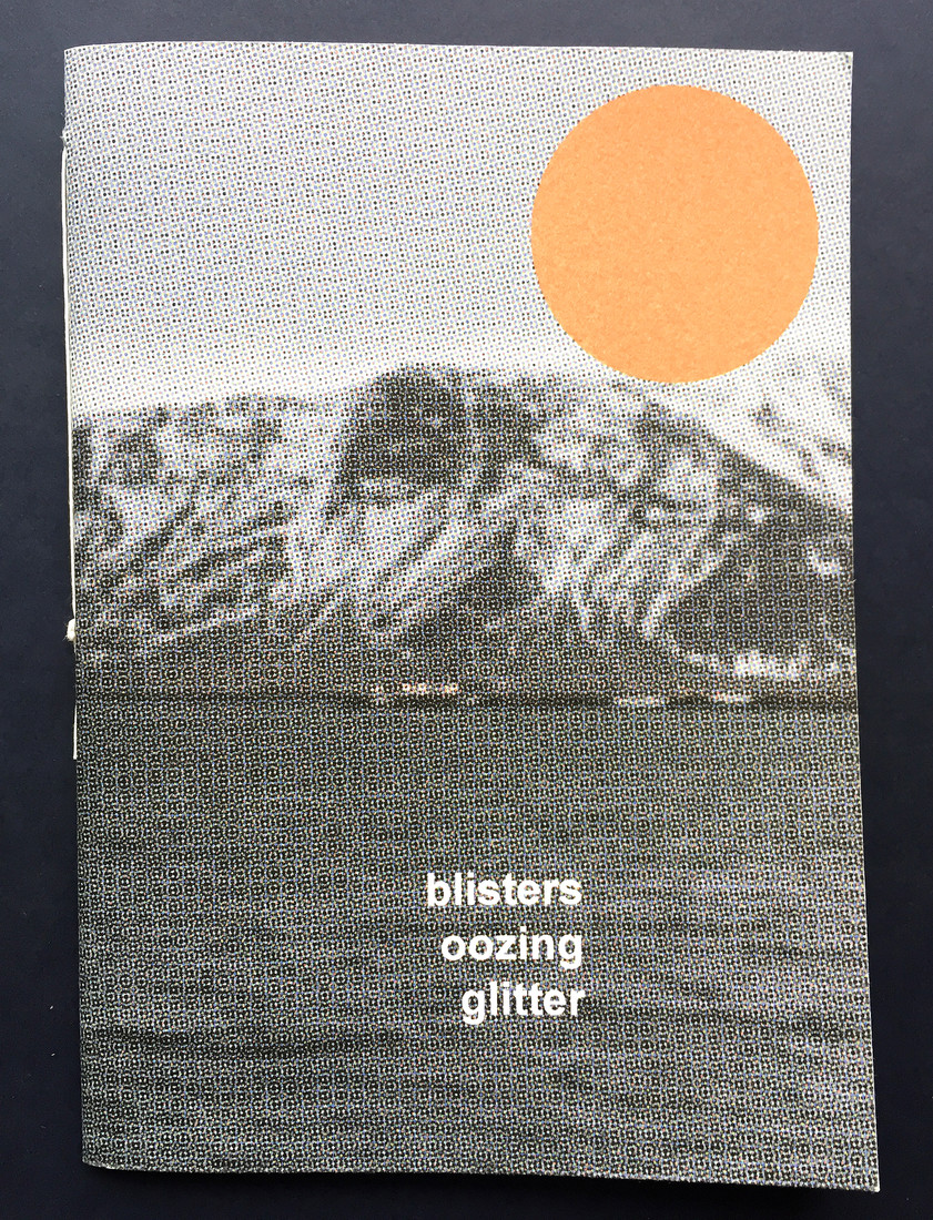 Book: Blisters oozing glitter