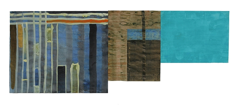 Cicely Cottingham Flags Acrylic on tracing vellum