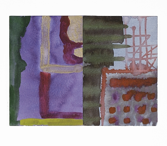 Cicely Cottingham Kitchen Table Drawings    Watercolor on Sennelier paper