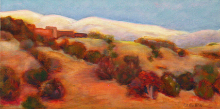 Cynthia K Mullins Commissioned Work oil
