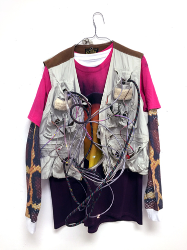 Clarke Curtis 3D Clothes, Cords, Ink