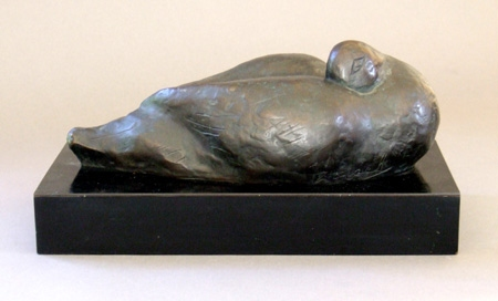Sculpture Sleeping Gull
