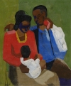 African American Oil on Canvas