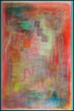 Abstract Acrylic on Paper
