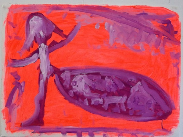 Claudia Ryan Small Paintings on Paper oil on paper