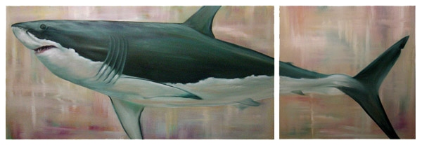Cleo Vilett Marine Life Oils Oil on Canvas