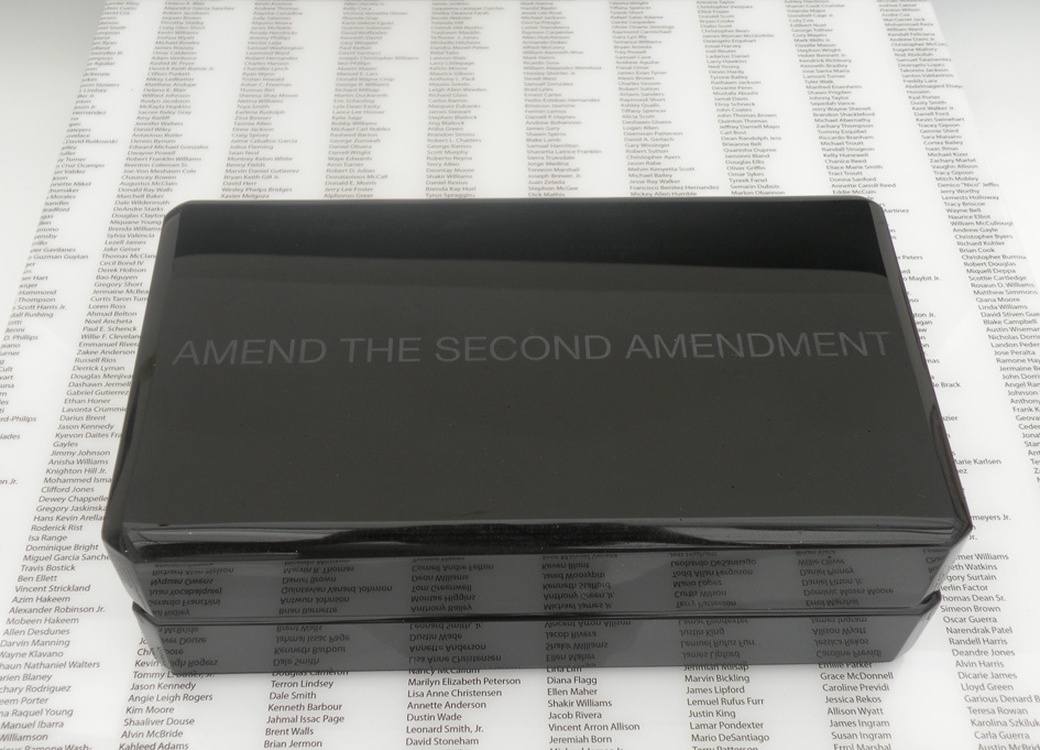 In The Beginning Was Black Series Amend the Second Amendment 2/3