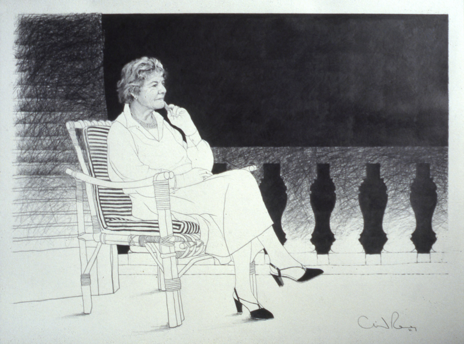 Portrait Drawings Gloria, Countess of Belmore