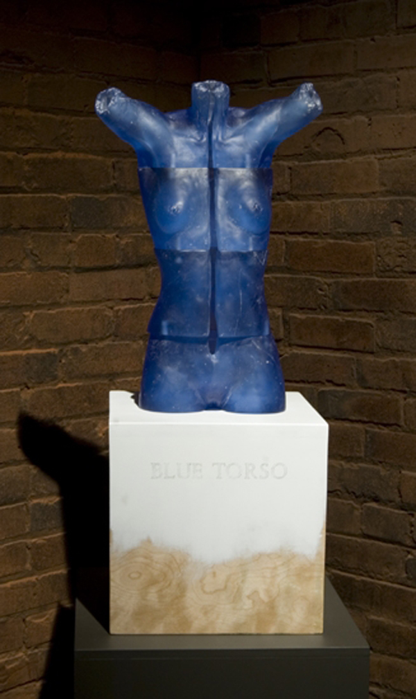 The Human Form Blue Torso