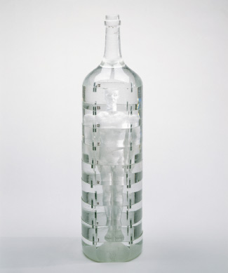 Bottle/Coca Cola Form Water Bottle - Hollow Figure