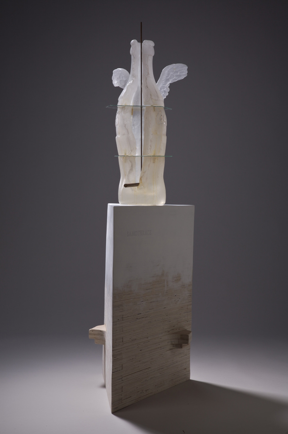 Bottle/Coca Cola Form Nike of Samothrace No. 1