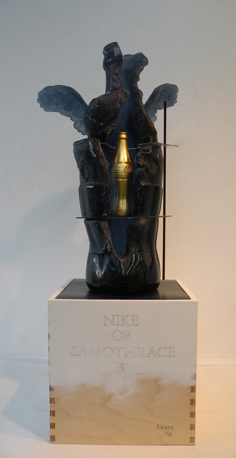 Bottle/Coca Cola Form Nike of Samothrace No. 4