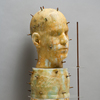 The Human Form Recycled cast plate glass, marble dust, sheet glass, copper, oxides