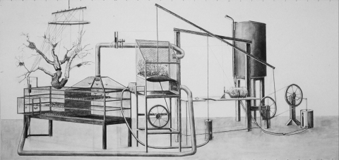 Colin Hunt 1999-2004: Drawings Charcoal on Paper