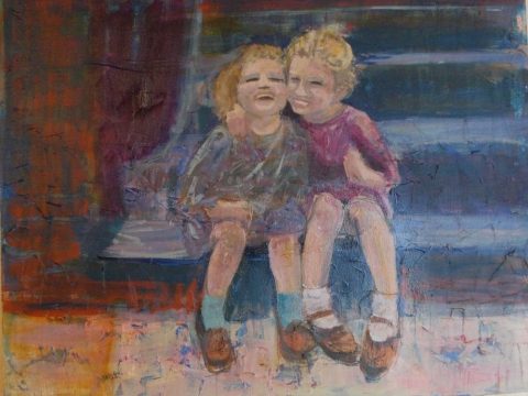 Paintings of my Family acrylic on canvas