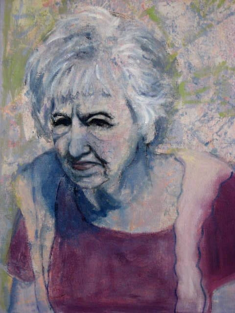 Paintings of my Family Mom at 96