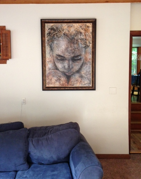 "My work installed in homes ""Fate"""