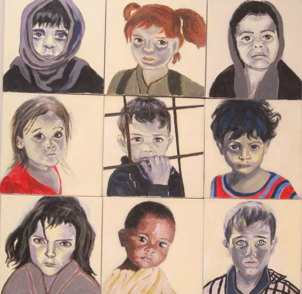 Refugees & other Innocents Refugee children