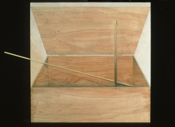 Constance Kiermaier Paintings trompe l'oeil painting on wood