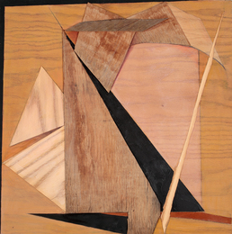Constance Kiermaier Paintings wood, mixed media on panel