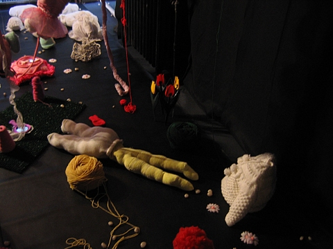 Marcia Cooper PLAY GROUND with Audio Track; 2006 Mixed Media Installation