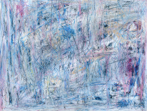 Marcia Cooper BATTLE_SERIES_II Mixed media with oil crayon on paper